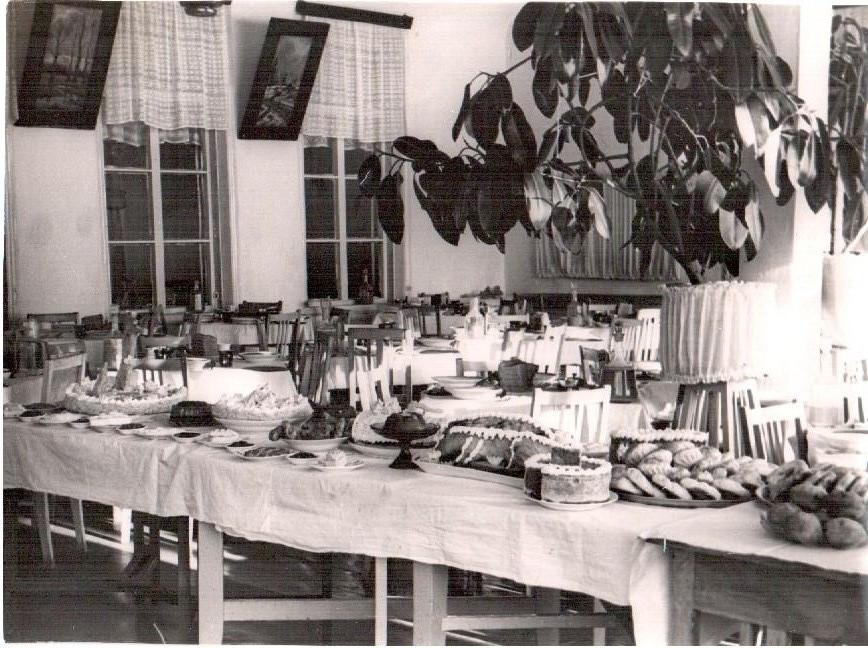 Прдукция кондитерского цеха. 1940-е годы.