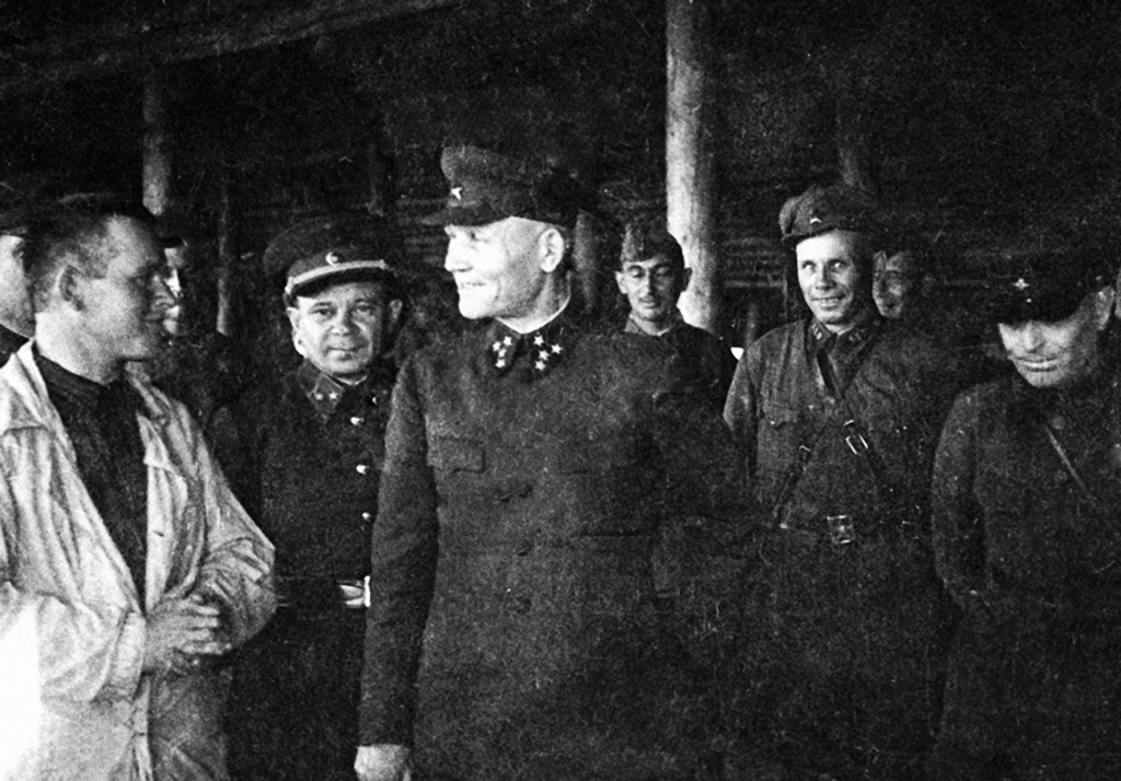 Заведующий Калининским фронтом генерал-подполковник Иван Степанович Конев-1