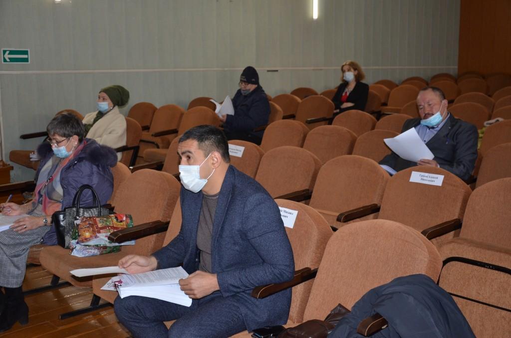 Сессия проходила с соблюдением масочного режима и в условиях социального дистанцирования