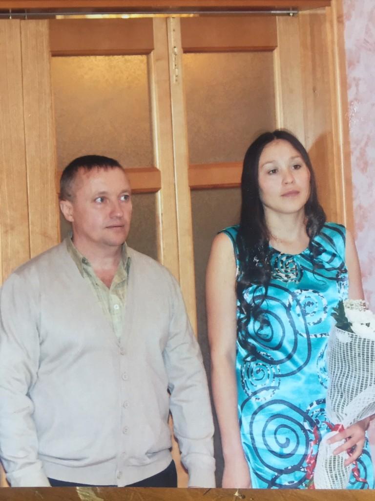Супруги Вера и Александр Дёмины