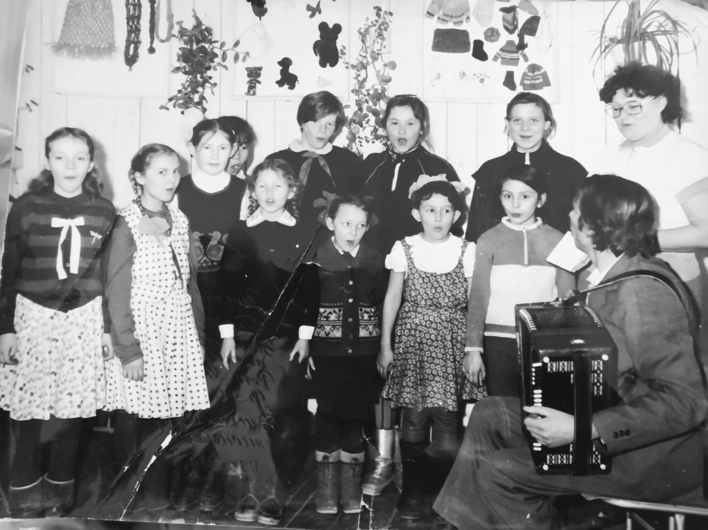 Кружок «Агитбригада» (руководители В.П. Филимонова и А.И